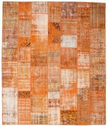 Patchwork Tapete 250X298 Moderno Feito A Mão Castanho Claro/Laranja Grande (Lã, Turquia)