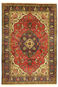 Tabriz Tapete 208X304 Oriental Feito A Mão (Lã, Pérsia/Irão)