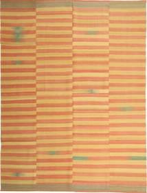 Kilim Moderno Tapete 222X295 Moderno Tecidos À Mão Castanho Claro/Bege Escuro (Lã, Pérsia/Irão)