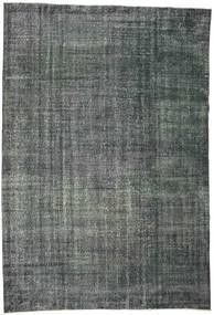 Colored Vintage Tapete 192X282 Moderno Feito A Mão Cinza Escuro/Azul Escuro (Lã, Turquia)