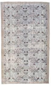 Colored Vintage Tapete 155X264 Moderno Feito A Mão Cinzento Claro (Lã, Turquia)