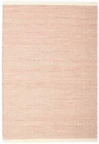 Seaby - Castanho Alaranjado Tapete 140X200 Moderno Tecidos À Mão Luz Rosa (Lã, Índia)