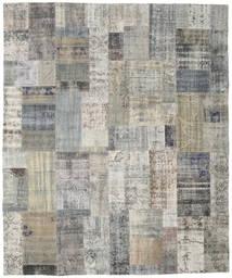 Patchwork Tapete 251X300 Moderno Feito A Mão Cinzento Claro/Cinza Escuro Grande (Lã, Turquia)