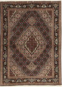 Tabriz 40 Raj Tapete 107X149 Oriental Feito A Mão Vermelho Escuro/Castanho Escuro (Lã/Seda, Pérsia/Irão)