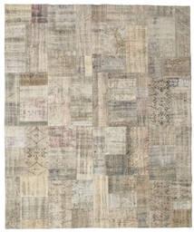 Patchwork Tapete 250X300 Moderno Feito A Mão Cinzento Claro Grande (Lã, Turquia)