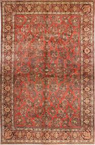 Sarough American Tapete 310X485 Oriental Feito A Mão Castanho Escuro/Castanho Alaranjado Grande (Lã, Pérsia/Irão)