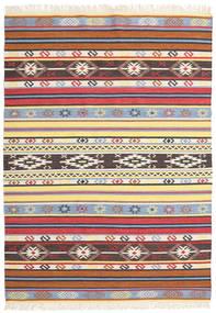Kilim - Navaja - Navaja Tapete 170X240 Moderno Tecidos À Mão Bege/Preto ( Índia)