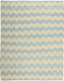 Kilim Moderno Tapete 190X234 Moderno Feito A Mão Bege Escuro/Azul Turquesa (Lã, Afeganistão)