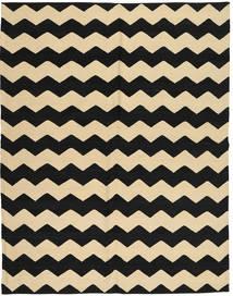 Kilim Moderno Tapete 184X235 Moderno Feito A Mão Preto/Castanho Claro/Bege (Lã, Afeganistão)