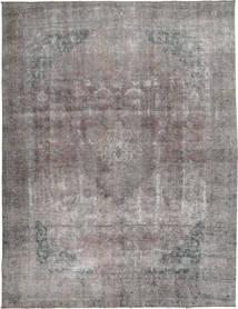 Colored Vintage Tapete 292X375 Moderno Feito A Mão Cinzento Claro/Cinza Escuro Grande (Lã, Paquistão)