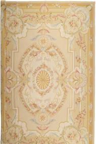 Aubousson Tapete 366X549 Oriental Tecidos À Mão Bege/Bege Escuro Grande (Lã, China)
