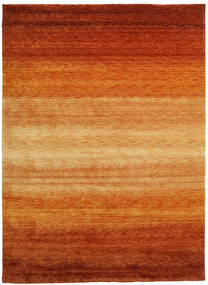 Gabbeh Rainbow - Castanho Alaranjado Tapete 210X290 Moderno Castanho Alaranjado/Castanho Claro (Lã, Índia)