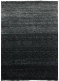 Gabbeh Up To Down Tapete 160X230 Moderno Preto/Verde Escuro (Lã, Índia)