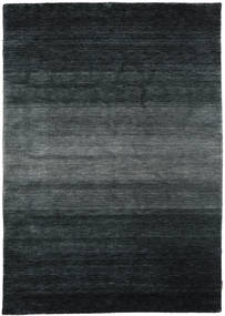 Gabbeh Rainbow - Cinzento Tapete 160X230 Moderno Preto/Cinza Escuro (Lã, Índia)