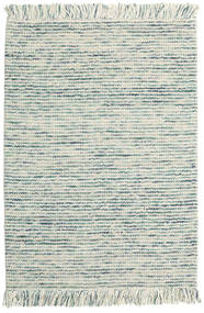 Dolly Multi - Mixed Azul Tapete 140X200 Moderno Tecidos À Mão Cinzento Claro/Bege (Lã, Índia)