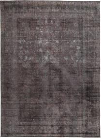 Colored Vintage Tapete 273X331 Moderno Feito A Mão Preto/Castanho Grande (Lã, Paquistão)