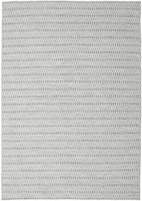 Kilim Long Stitch - Cinzento Tapete 240X340 Moderno Tecidos À Mão Cinzento Claro/Azul Turquesa (Lã, Índia)