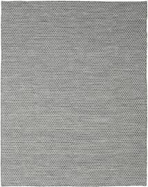 Kilim Honey Comb - Preto/Cinzento Tapete 240X300 Moderno Tecidos À Mão Cinzento Claro/Azul Turquesa (Lã, Índia)