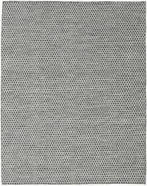 Kilim Honey Comb - Preto/Cinzento Tapete 190X240 Moderno Tecidos À Mão Cinzento Claro/Cinza Escuro (Lã, Índia)