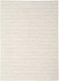 Kilim Long Stitch - Bege Tapete 210X290 Moderno Tecidos À Mão Cinzento Claro/Bege (Lã, Índia)