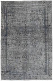 Colored Vintage Tapete 170X263 Moderno Feito A Mão Cinza Escuro/Azul (Lã, Paquistão)