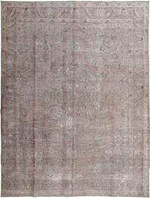 Colored Vintage Tapete 296X393 Moderno Feito A Mão Cinzento Claro/Cinza Escuro Grande (Lã, Paquistão)