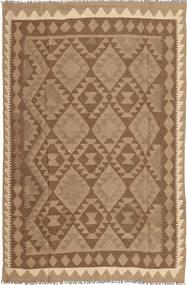 Kilim Tapete 158X244 Oriental Tecidos À Mão Castanho/Castanho Claro (Lã, Pérsia/Irão)