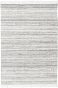 Diamond Lã - Cinzento Tapete 140X200 Moderno Tecidos À Mão Cinzento Claro/Bege (Lã, Índia)