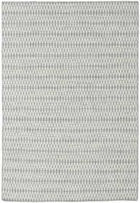 Kilim Long Stitch - Cinzento Tapete 160X230 Moderno Tecidos À Mão Cinzento Claro/Azul Turquesa (Lã, Índia)
