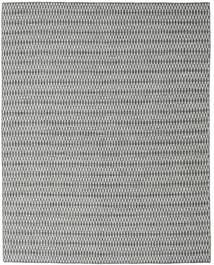 Kilim Long Stitch - Preto/Cinzento Tapete 240X300 Moderno Tecidos À Mão Cinzento Claro/Azul Turquesa (Lã, Índia)