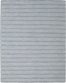 Kilim Long Stitch - Azul Tapete 190X240 Moderno Tecidos À Mão Cinzento Claro/Azul Claro (Lã, Índia)