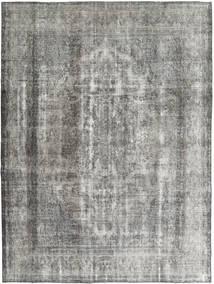 Colored Vintage Tapete 285X375 Moderno Feito A Mão Cinzento Claro/Cinza Escuro Grande (Lã, Pérsia/Irão)