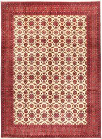 Afegão Khal Mohammadi Tapete 295X395 Oriental Feito A Mão Vermelho Escuro/Castanho Alaranjado Grande (Lã, Afeganistão)