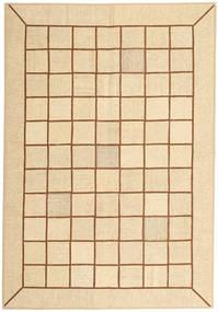 Kilim Patchwork Tapete 173X251 Moderno Tecidos À Mão Bege/Castanho Claro (Lã, Pérsia/Irão)