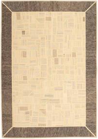 Kilim Patchwork Tapete 170X239 Moderno Tecidos À Mão Bege/Castanho Claro (Lã, Pérsia/Irão)