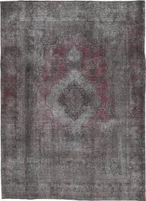 Colored Vintage Tapete 202X283 Moderno Feito A Mão Cinza Escuro/Castanho Escuro (Lã, Pérsia/Irão)