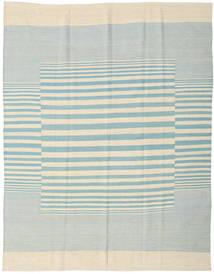Kilim Moderno Tapete 181X230 Moderno Feito A Mão Bege/Azul Turquesa (Lã, Índia)