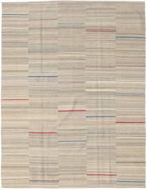 Kilim Moderno Tapete 186X239 Moderno Feito A Mão Cinzento Claro (Lã, Pérsia/Irão)