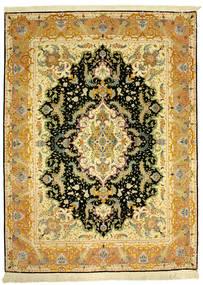 Tabriz 70Raj Silke Varp Tapete 152X205 Oriental Feito A Mão (Lã/Seda, Pérsia/Irão)