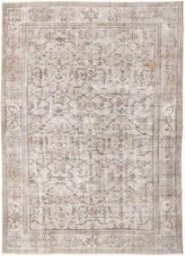 Colored Vintage Tapete 214X296 Moderno Feito A Mão Cinzento Claro/Branco/Creme (Lã, Turquia)