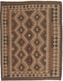 Kilim Maimane Tapete 148X187 Oriental Tecidos À Mão Castanho/Castanho Escuro (Lã, Afeganistão)