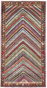 Bakhtiari Patina Tapete 100X198 Oriental Feito A Mão Bege/Castanho Escuro (Lã, Pérsia/Irão)