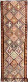 Kilim Fars Tapete 158X830 Oriental Tecidos À Mão Tapete Passadeira Vermelho Escuro/Castanho Claro (Lã, Pérsia/Irão)