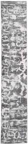 Colored Vintage - Persien/Iran Tapete 65X383 Moderno Feito A Mão Tapete Passadeira Cinzento Claro/Bege (Lã, Pérsia/Irão)