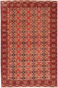 Turcomano Patina Tapete 210X316 Oriental Feito A Mão Vermelho Escuro (Lã, Pérsia/Irão)