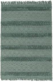 Kilim Berber Ibiza - Verde Menta Tapete 160X230 Moderno Tecidos À Mão Verde/Verde Escuro (Lã, Índia)