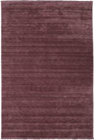 Handloom Fringes - Vermelho Bordeaux Tapete 300X400 Moderno Porpora Escuro/Castanho Escuro Grande (Lã, Índia)