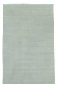 Handloom Fringes - Azul Marinho Tapete 200X300 Moderno Azul Claro (Lã, Índia)