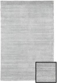 Bambu Grass - Cinzento Tapete 120X180 Moderno Cinzento Claro/Bege (Lã/Bamboo Seda, Turquia)