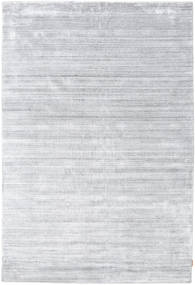 Bambu Seda Loom - Cinzento Tapete 200X300 Moderno Branco/Creme/Cinzento Claro ( Índia)